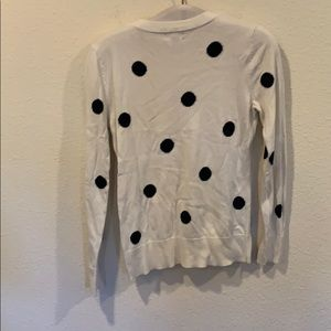 Merona Sweaters - Polka dot crew neck pullover sweater